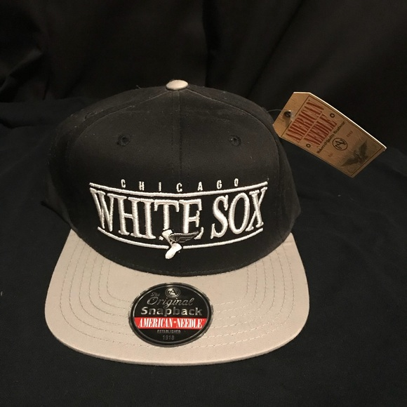 a6491ddcbea5a Chicago White Sox MLB American Needle Snapback Hat